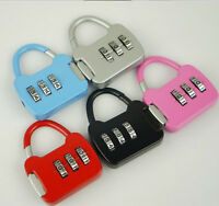 3 Digit Combination Luggage Code Lock Password Padlock、DD
