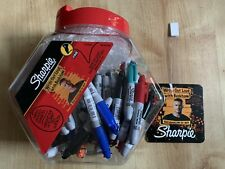 More details for sharpie mini permanent fine assorted marker canister of 72 s0811300 new