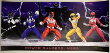 POWER RANGERS: MEGA Panoramic Print 162/500 HAND SIGNED by Damon Bowie w COA