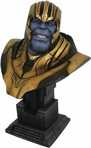 MARVEL LEGENDS IN 3 DIMENSIONS THANOS 1/2 SCALE RESIN BUST AVENGERS 0203 OF 1000