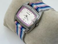 FreeStyle Women Wristwatch Multi Color Canvas Band Analog Watch Water Resistant