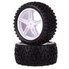 2x 1/10 HSP Off-road Buggy 06024 Rear Wheel Rim Tyre,Tires Insert Sponge 66021