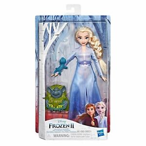 Disney Frozen 2 Elsa Pabbie Salamander Fashion Doll Travel Outfit NEW SEALED IN