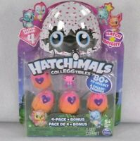 Hatchimals CollEGGtibles Season 4 Hatch Bright 4 Pack + Bonus - Random Bonus