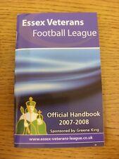 2007/2008 Essex veteranos Liga de fútbol: oficial Manual. toda falla con Thi