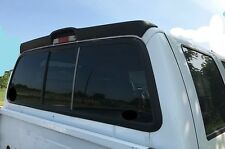 UN-PAINTED NO DRILL REAR CAB SPOILER FOR 2009-2016 FORD SUPER DUTY F250/350/450