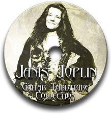 JANIS JOPLIN GUITAR TAB TABLATURE SONG BOOK SOFTWARE CD
