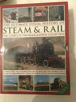 The Ultimate Visual History Of Steam & Rail: The Complete Two-Book Set