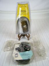 """SPRINT PHONE COVER KATANA II CLEAR CASE 3 3.25"""" CLEAR CASES PDA CHARGER"""