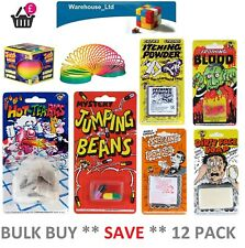 12 Pack Funny Jokes Classic Practical Jokes Novelty Party Trick Stocking Filler