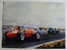 1958 Ferrari 246 Formula 1 Race Car Print, Picture Poster, RARE!! Awesome L@@K