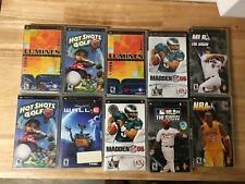 Lot of 10 PSP Games