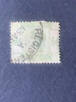 1883-84 Great Britain SC#105 , Queen Victoria , used