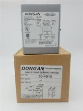 DONGAN 35-4010 Single Phase General Purpose Transformers PRI 277V SEC 120/240