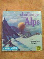 Super 8 Film - Challenge of the Alps - Castle Films  8mm RARE VTG movie