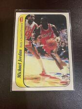 REPRINT 1986 - 1987 Fleer Sticker Michael Jordan Chicago Bulls #8