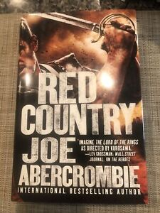 Red Country by Joe Abercrombie (2012, Hardcover) First Edition