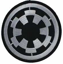 """Star Wars Imperial Cog Target Empire Logo Sith Embroidered Patch 3"""" Round"""