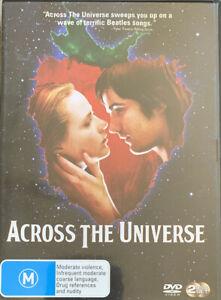 DVD: Across The Universe - A Revolutionary Rock Musical + Beatles Songs through