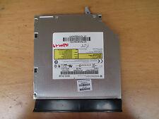 HP Compaq CQ58 650 655 Super Multi DVD-RW Rewriter, Bezel & Bracket 686268-001