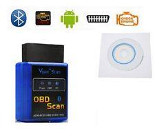 Elm327 Elm 327 Torque Odb2 Odbii - Outil De Diagnostic Auto - Bluetooth + CD