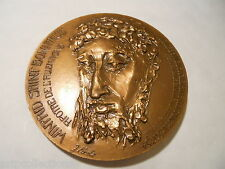 Médaille Bronze Apotre Allemagne Saint Boniface
