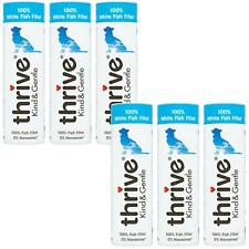 6 x Thrive Kind & Gentle 100% White Fish Dog Treats Tube Natural Real Meat - 15g