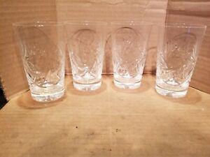 "Tumblers Hobstar Pinwheel - 4 3/4"" - Set of 4"
