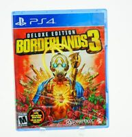 Borderlands 3 Deluxe Edition Includes DLC: Playstation 4 [Brand New] PS4