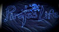 PIRATE'S LIFE Brand 3' x 5' FLAG Indoor/Outdoor ORIGINAL