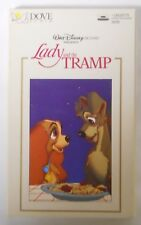 VINTAGE! 1990 Dove Audio Walt Disney Pictures Cassette-Lady and the Tramp