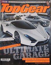 Top Gear magazine 10/2010 featuring Ultimate Aero, Ariel Atom, Wildcat, Bentley