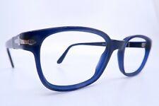 Vintage Persol eyeglasses frames blue Mod 2527 size 51-18 made in Italy