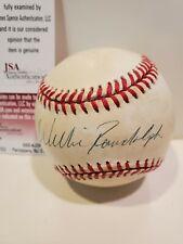 NY Yankees Willie Randolph Signed OAL Baseball - JSA Certified