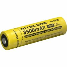 Nitecore Li-ion tipo 18650 3500mah nl1835 original 3,7v 3500mah/12, 6wh