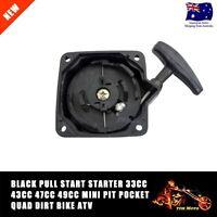 2 X Pull Start Starter 33cc 43cc 47cc 49cc Mini PIT Pocket Quad Dirt Bike ATV