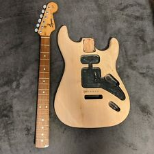 Fender Squire Strat Electric Guitar Body & Neck Project Stripped Stratocaster