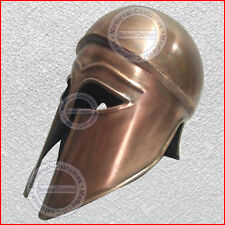 Greek Medieval Corinthian Helmet Armor SCA Knight Spartan Iron Helmets y2