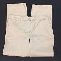 Talbots The Perfect Chino khaki pants Ladies 14