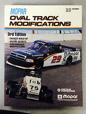 Mopar Oval Track Modifications Manual  3rd Edition   Part Number:  P5249959