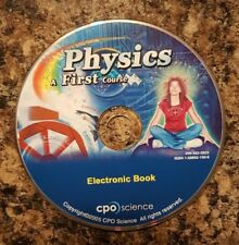 PHYSICS: A FIRST COURSE BY TOM HSU: Electronic Book-New in Sealed Package
