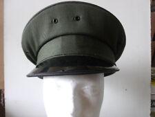 Uniform Round Hat - Dark Green - Lancaster Brand 100% WOOL Size 6 3/4 (A927)