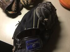 Spalding Right-Hand Top-Grain Leather Glove Pro Model - Free Shipping