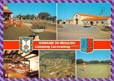 Carte postale - Domaine de Beaulieu - Camping caravaning