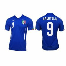 ITALIEN Trikot original PUMA NEU Gr S Balotelli WM EM Maglia #9 Nr. 9 NEU