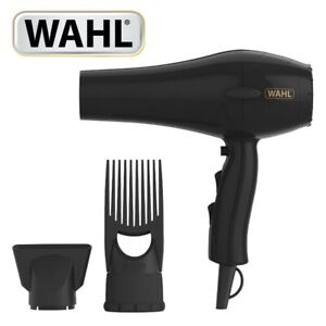 Wahl ZY017 Power Pik 2 Turbo Afro Hair Dryer with Afro Comb Pik Attachment 1500W