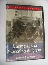 L'UOMO CON LA MACCHINA DA PRESA - DVD SIGILLATO - CINEMA HISTORY - PAL