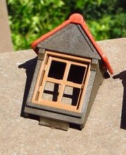 Playmobil Castle Medieval Building House Brown Window Dormer Red Roof 7109 3666
