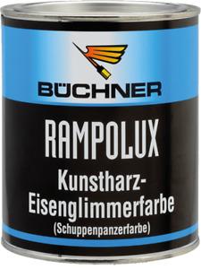 Büchner Rampolux Eisenglimmerfarbe 0,750 ml Matt anthrazit