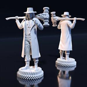 35 mm Karl Heisenberg fanart Resident Evil Miniature for Zombicide DnD